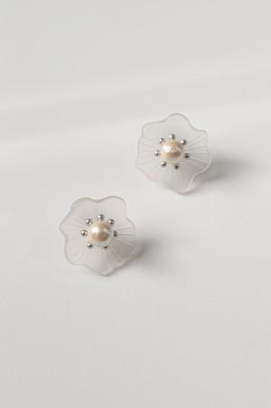 "malamute × somnium ""ajisai earring""[silver]"