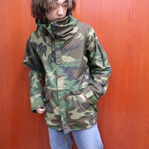 "87s US military ECWCS GORE-TEX parka ""WOODLAND"" size Small/Regular"