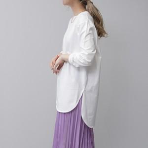 天竺ラウンドヘムTシャツ FLM21050