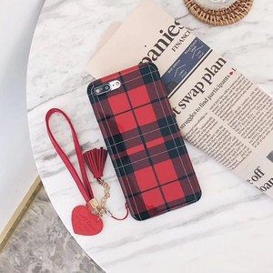 【お取り寄せ商品】simple check iphone case 6561