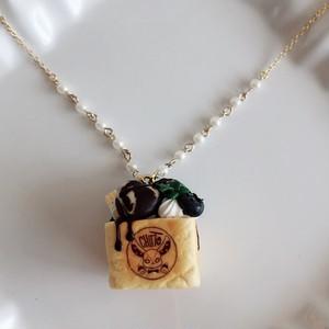 【CHITTO】ハニートーストネックレス(チョコミント)a0103131