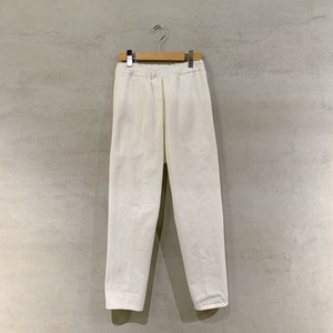 "【COSMIC WONDER】Organic cotton color denim ""tattsuke""/WHITE/09CW23016-1"