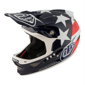 Troy Lee Designs トロイリーデザイン / D3 CARBON FREEDOM HELMET MIPS / BLUE / Mサイズ