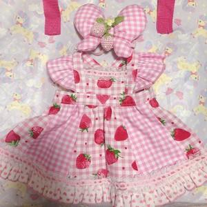 ワガママいちご娘らぶちゃんのお洋服セット【赤/ピンク/ラベンダー】受注生産