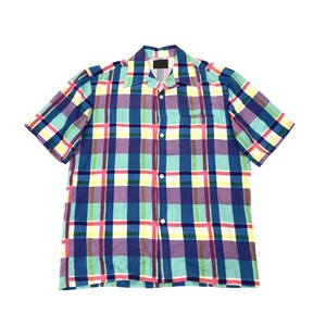 YOHJIYAMAMOTO A.A.R MULTI COLOR CHECK SHIRT
