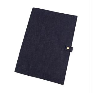 デニムのノートカバー【B5】