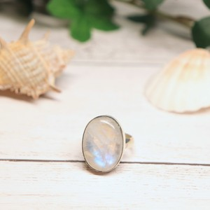 Gem Ring(Moonstone : oval)