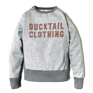 "DUCKTAIL CLOTHING 2 TONE SWEAT ""TIMES"" ダックテイル クロージング リバースウィーブ ツートーン スウェット"