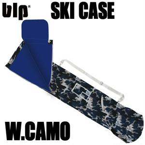 blp スキーケース ホワイトカモ 防水ナイロン巾着タイプ