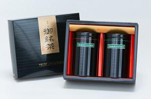 4 特選深蒸し茶ティーバッグ2g×25個・2g×10個 TSUMUKIYUTAKA® 缶入り贈答セット