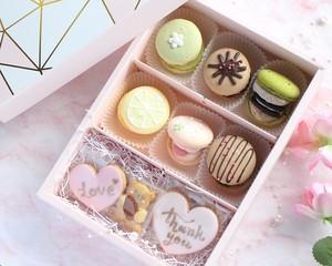 【ギフトセット】トゥンカロン6個+アイシングクッキー