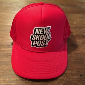 NEW SKOOL POST/MESH CAP