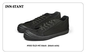 #602 OLD-HC black (black sole) INN-STANT インスタント