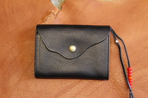 CAL O LINE キャルオーライン / BEADS LEATHER WALLET 2