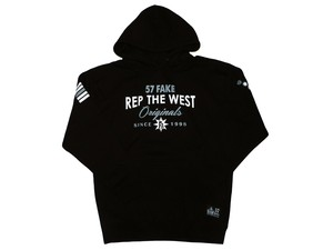 Rep The WEST(57FAKE)Black×gray