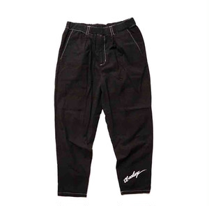 EFFECTEN(エフェクテン) Jet black 2TACK EASY PANTS