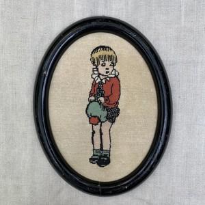 男の子の刺繍フレーム