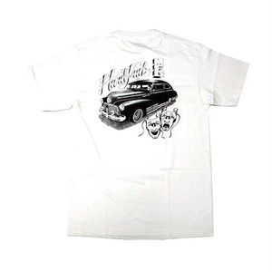 HARD LUCK - RIDE NOW TEE (White)