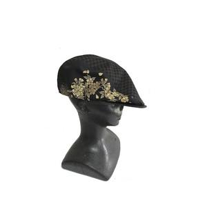 西陣織ハンチング帽HT0039 サイズM.S