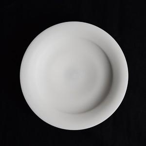 森岡希世子 Kiyoko Morioka  白磁リム皿(21cm)