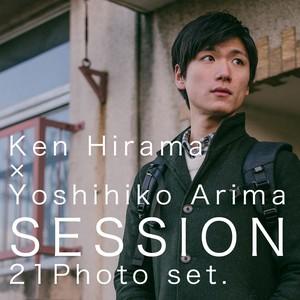 【ブロマイド】Ken Hirama × Yoshihiko Arima SESSION