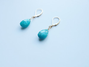 PIECE Earrings|Amazonite