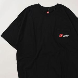 【XLサイズ】 CSC GOLF CLASSIC TEE 半袖Tシャツ BLACK XL 400601191070