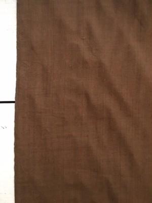 【NEW】Khadi cotton  ブラウン 中厚手