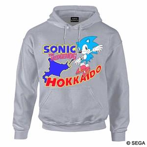 SONIC THE HEDGEHOG x HOKKAIDO パーカー / 全3色