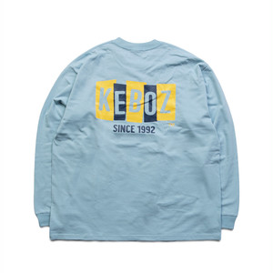 BS HEAVY WEIGHT L/S TEE【SAXE】