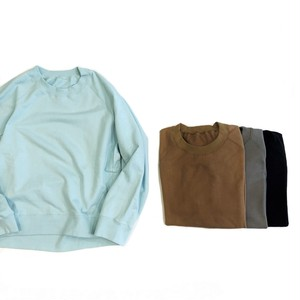 VOAAOV 【ヴォアーブ】 CENTRAL FLEECE SWEAT SHIRTS