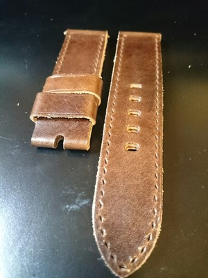 Rita's@strap  Oil Brown Leather 24mm (61)