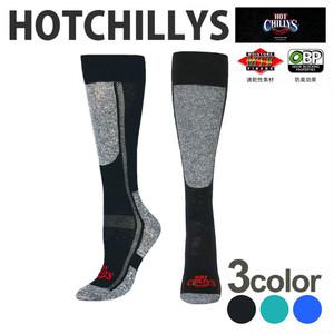 HOT CHILLYS (ホットチリーズ) プレミア ソックス 中厚 レディース HC2212 冬 スキー スノボ アウトドア 雪山 ノルディック 靴下