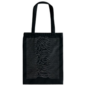"【SELECT】TOTE BAG ""UNKNOWN PLEASURES"""