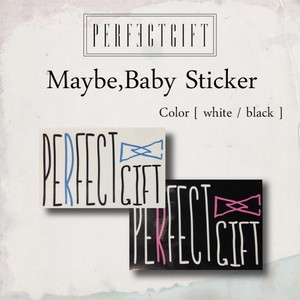 Maybe,Baby Sticker