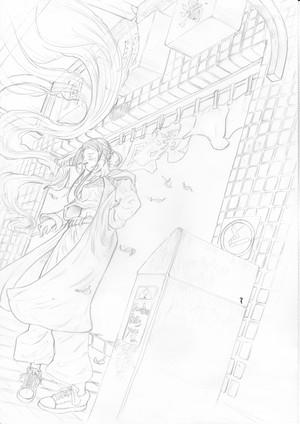 原画『日常銭湯』【繋展期間限定!】