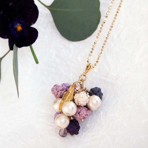 pendant necklace ◍grape 2
