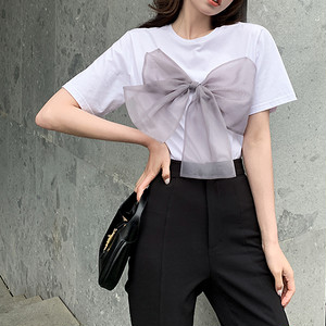 Sweet Bow-Knot T-Shirt T670