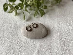 【aika jewelry】Contemporary hoop pierce