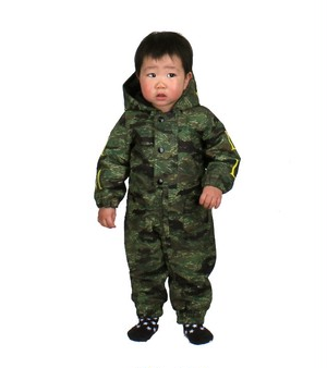 ベビー・新生児応援企画!!ML5006 BABY ONEPIECE 865 GREEN (kamo) 80cm