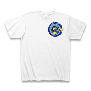 お洒落なTシャツ PREMA 左胸 ホワイト 綿100%
