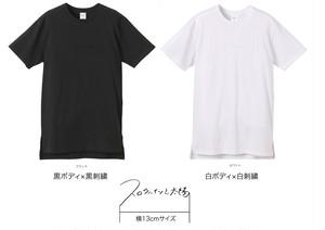 スロウハイツと太陽 視えないロゴ刺繍Tシャツ
