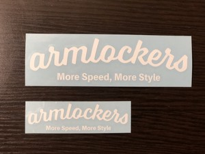 【送料無料】Decal - Curve [Small] Second - Armlockers
