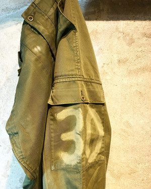 BRITISH ARMY no 30 stencil pants
