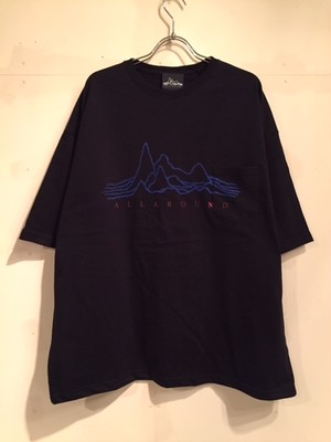"【18013】WIDE SILHOUETTE S/S POCKET Tee ""TYPE A"""