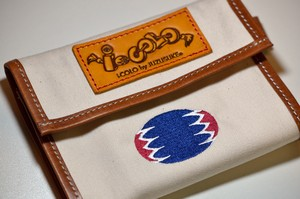 """Chevron"" Tissue & Mask case (オフホワイト)"