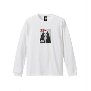 """ANDSUNS(アンドサンズ) """"TRUST NO ONE TEE"""" [WHITE]"""