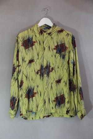 50's Vintage Rayon Shirt