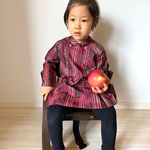 【KIDS】70's school blouse - French -