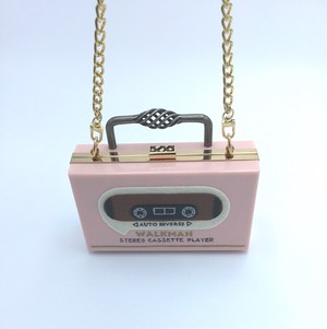 CECILIA MA WALKMAN CLUTCH PINK